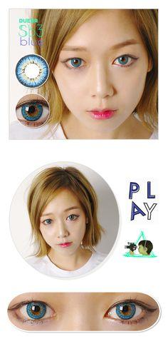 Dueba CLARA  Blue Contact Lenses /237