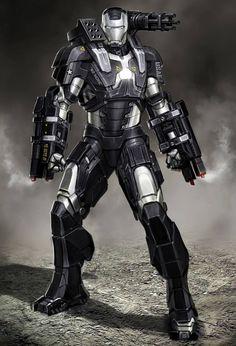 #Iron #Fan #Art. (Iron Man 2: War Machine concept art) By: Ryan Meinerding. (THE * 5 * STÅR * ÅWARD * OF * MAJOR ÅWESOMENESS!!!™)[THANK U 4 PINNING!!