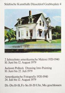 Plakat: Hopper, Edward - 1979 - Städtische Kunsthalle Düsseldorf