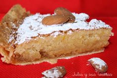Hispanic Desserts, Spanish Desserts, Tasty, Yummy Food, Sweets Cake, Almond Cakes, Sweet And Salty, Cakes And More, Bakery