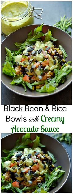 A delicious and simple Vegan, Gluten-Free meal with fresh veggies, protein, and a drool worthy sauce!
