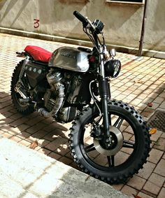 12 HONDA CX 500 LARROGANTE by Espreso scrambler brat style cafe racer bike motorcycle custom Motorcycles 7 Friday Inspiration 174