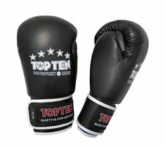 Black AWMA Pro Force Leatherette Boxing Gloves for Sparring//Bag Weight 12 oz
