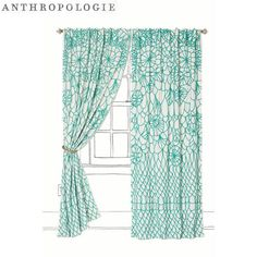 Anthropologie curtain if my kitchen has a window with no counters nearby