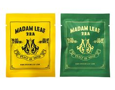 "Check out new work on my @Behance portfolio: """"MADAM LEAF"" Tea package design"" http://be.net/gallery/55305899/MADAM-LEAF-Tea-package-design"