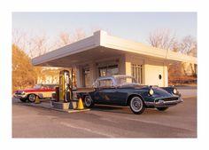 1958 Packard Hawk Glamor Shot by Michael Paul Smith, via Flickr