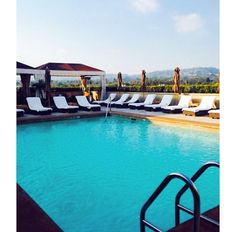 What could be better than spending the day, poolside on our rooftop?