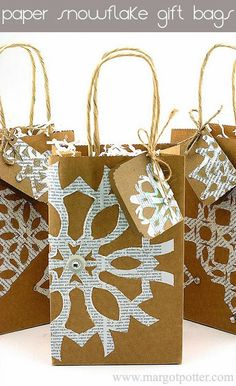 Margot Potter: How to Make Paper Snowflakes