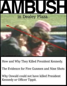 Ambush in Dealey Plaza: How and Why They Killed President Kennedy by Robert Murdoch Los Kennedy, Robert Kennedy, Jackie Kennedy, Dealey Plaza, Better Books, Kennedy Assassination, Jfk Jr, John Fitzgerald, Truth Hurts