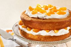 Simply Citrus Cream Cake!! This is my go-to dessert for Spring and my Easter Sunday contribution!