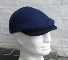 Cap sewn from genuine Harris Tweed by Made4Umnn on Etsy