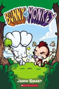 When mean, selfish Monkey is sent into space, his spaceship crash-lands in Bunny's peaceful forest home, and Monkey, believing he is on a new planet, tries to claim it for his own.