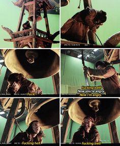 Luke vs. the Laketown bell