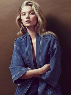 Wanted : une veste kimono en jean (photo Mikael Schulz)