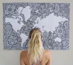 Image of World Map XL