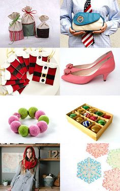 Colorful Christmas with @HomespunSociety by @Homespun Society