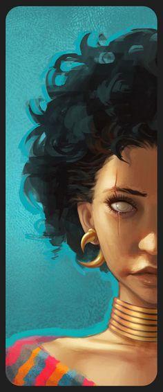 The Art Of DANIELA UHLIG - Artworks, Illustration, Tatoos and more... via PinCG.com