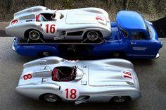 CMC die-cast Ferrari Transporter