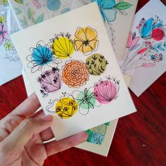 Watercolor Art Lessons, Watercolor Projects, Watercolor And Ink, Watercolor Flowers, Watercolor Paintings, Watercolors, Botanical Line Drawing, Doodle Inspiration, Guache