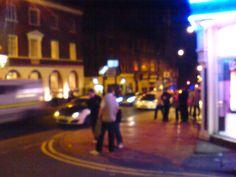 Westgate, Wakefield. Wakefield, Street View, Dark, Image