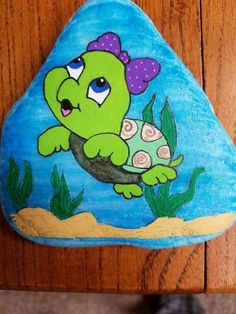 need to paint this next time Amya and Tanner are here Turtle Painting, Pebble Painting, Pebble Art, Stone Painting, Turtle Painted Rocks, Painted Rock Animals, Painted Rocks Kids, Rock Painting Patterns, Rock Painting Designs