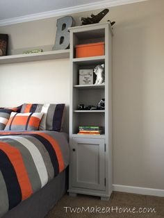How to Build Bedroom Storage Towers