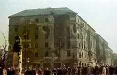 1956 uprising in colour, Budapest, Hungary Eckhaus, Budapest Hungary, Revolution, Art Photography, Cinema, History, Retro, Gallery, Pictures