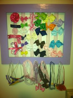 bow and headband holder - Google Search