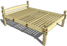 173 Viking Bed (Queen)