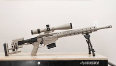Ruger Precision Rifle in cerakoted Desert Sage 308 Rifle Hunting, Hunting Rifles, Sniper Gear, Sniper Rifles, Ruger Precision Rifle 308, Bolt Action Rifle, Shooting Guns, Assault Rifle, Cool Guns