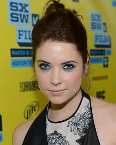 Newly brunette Ashley Benson at SXSW