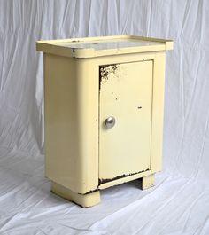 Vintage Kommoden - 50er Blechschrank Industrie Design (1) - ein Designerstück…