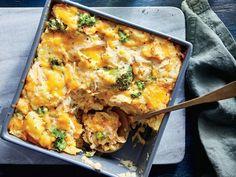 Buttermilk Potato, Chicken, and Cheddar Casserole
