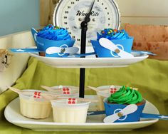 [Boy Bash] 'Fly into Summer' Plane Dessert Table! - Spaceships and Laser Beams