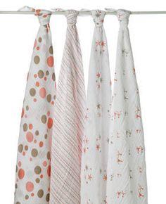 Aden + Anais Muslin Swaddling Blankets in StarLight Print : http://www.naturebumz.com/aden-anais-classic-muslin-swaddling-blankets.html
