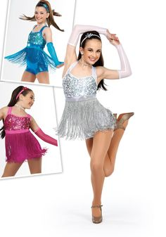 14290 - Let's Dance - Dance the night away in this foil lycra shortall with hologram sequin lined bodice and attached fringe skirt. Comes in Fuchsia, Turquoise and Silver.