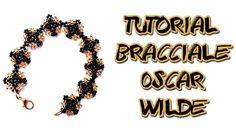 Tutorial Braccialetto con Perline Oscar Wilde-Bracciale Fai da te con Ro...