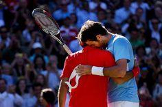 Olympics Tennis: Juan Martin Del Potro broke down on Roger Federer's shoulder after marathon loss