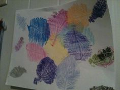 Hello!  I made this!Can you believe that I made this? To do this project you will need: Leaves from a tree Crayons  How to do this project? Put the leaves under the paper and color over the spot were the leaves are and that is how to make this! This is great to do with kids between 3-13                          AKK