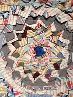 nifty quilts: Pine Burr Quilt!
