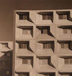 Marcel Breuer - Concrete facade -University of Massachusetts, 1967-1970.