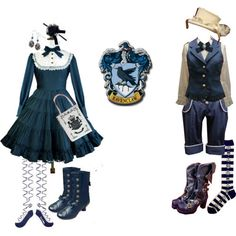 A Ravenclaw Lolita coordinate? ARE YOU KIDDING ME!? I NEED THIS RIGHT NOW.