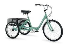 Best Adult Tricycles - Torker 24 x 20 Raleigh Bikes, Adult Tricycle, Epic Fail Pictures, Cool Bikes, Fun To Be One, Mint Green, Trike Bicycle, 45 Pounds, Hot Cars