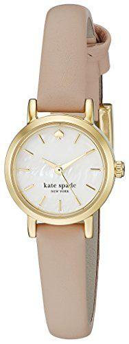 Kate Spade New York Women's Tiny Metro - 1YRU0372 Gold-Tone Watch with Leather Band kate spade new york http://www.amazon.com/dp/B00FX7JWDG/ref=cm_sw_r_pi_dp_Zw.pwb0FM09ZM
