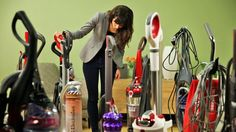 Here's where you'll find everything you ever wanted to know about vacuum cleaners -- and then some.
