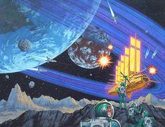 70s Sci-Fi Art: David Mattingly.