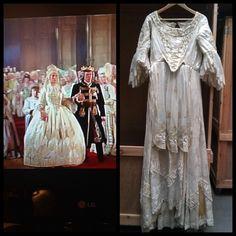 Princesses wedding dress
