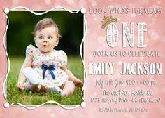 Printable Princess Pink Birthday Invite!