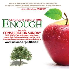 Join us this Sunday and show your support for UPUMC!