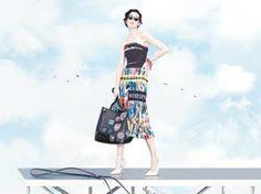 Dior pelos ares http://msn.lilianpacce.com.br/e-mais/campanha-da-dior-primavera-verao-2014/